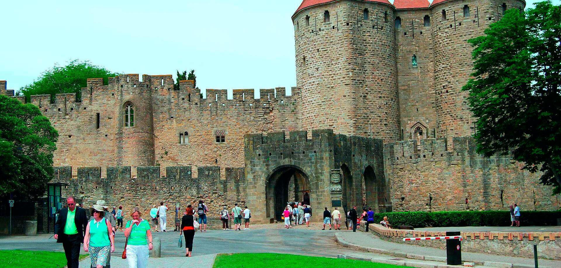 Sant Feliu de Guíxols - Carcassonne (Frankreich)