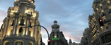 Self Guided Tour de Moto Madrid