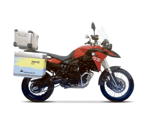 Motorcycle Rentals - BMW F800 GS