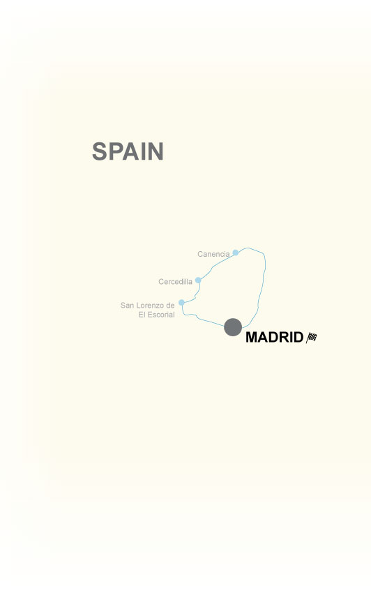 Madrid Motorcycle Self Guided Tour